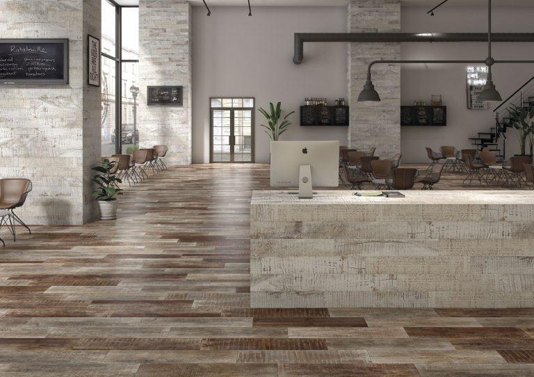 Nueva cerámica efecto madera de OSET, acabados para todos los estilos