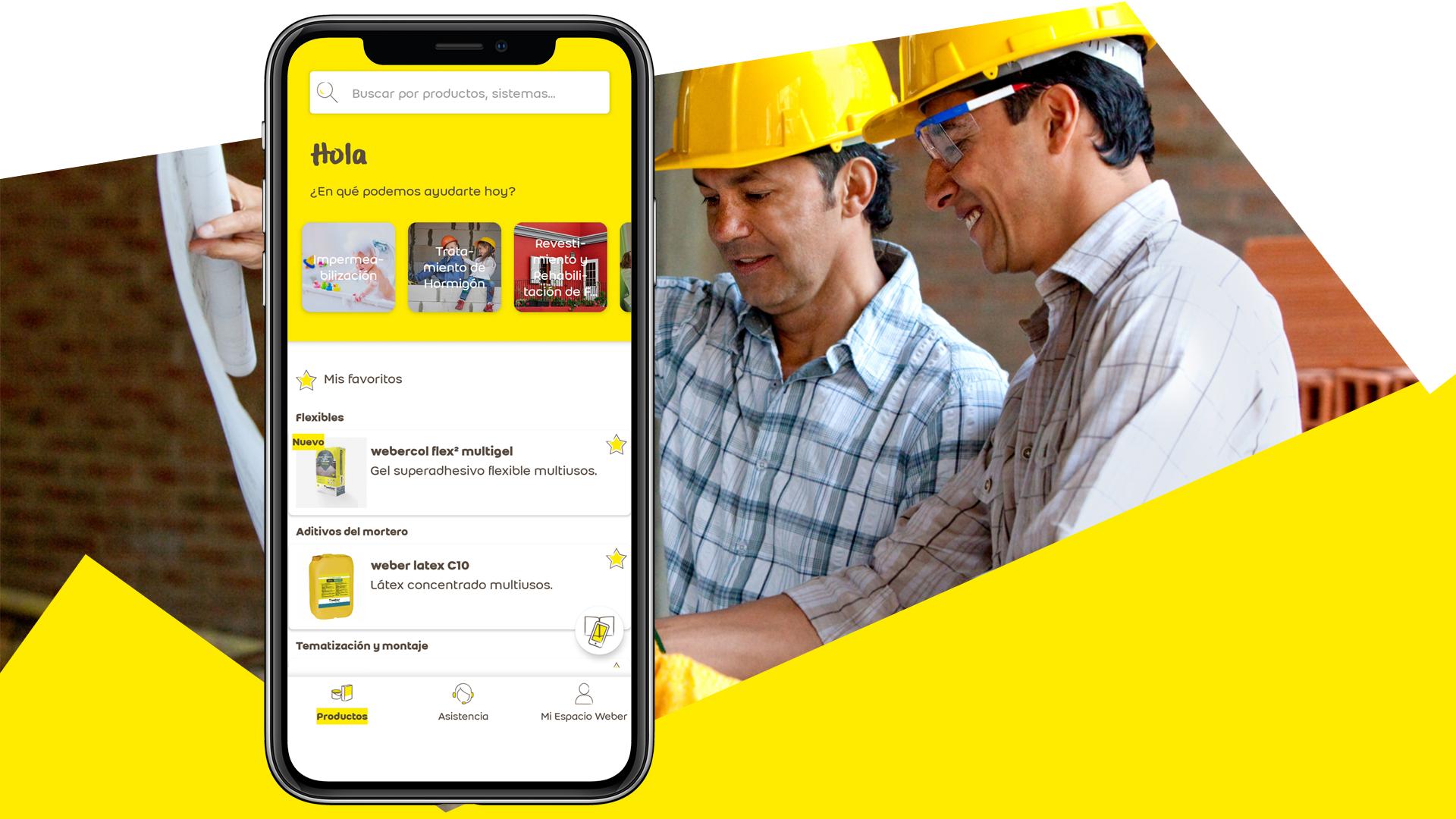 Nueva aplicación WeberApp para smartphones y tabletas