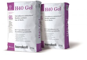 H40® Gel el 1er gel-adhesivo®  con durabilidad garantizada
