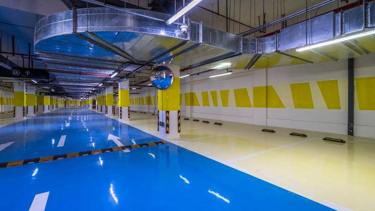 Weber industryfloor, una innovadora gama de sistemas para la renovación de parkings públicos y residenciales